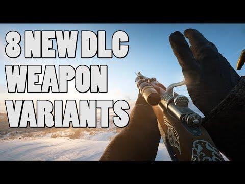8 new DLC weapon variants! - Battlefield 1 (Gameplay) Silenced sniper!