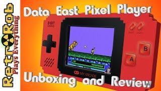 Data East My Arcade Pixel Player Unboxing and Review. Bad Dudes, Burger Time and Waaay More