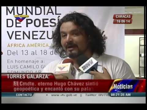 """Conversatorio """"El ser del sur"""" en el Festival Mundial de Poesía 2014"""