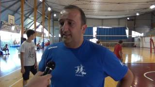 29-06-2016: Vincenzo Fanizza, tecnico Puglia Maschile, dopo la vittoria del girone A1