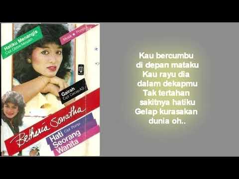 Betharia Sonata - Hati Seorang Wanita (Lirik)