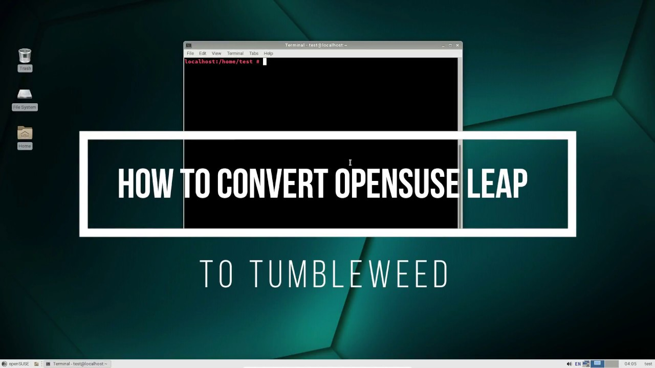 How To Convert OpenSUSE Leap To Tumbleweed