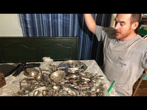 Going through a LOT of REAL sterling silver and silver plate