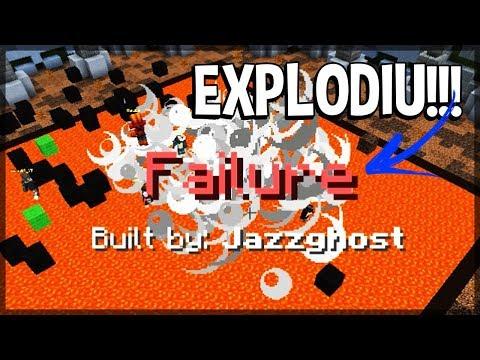 Minecraft: MINHA CONSTRUÇÃO FICOU TÃO RUIM QUE EXPLODIU!!! (MASTER BUILDERS)