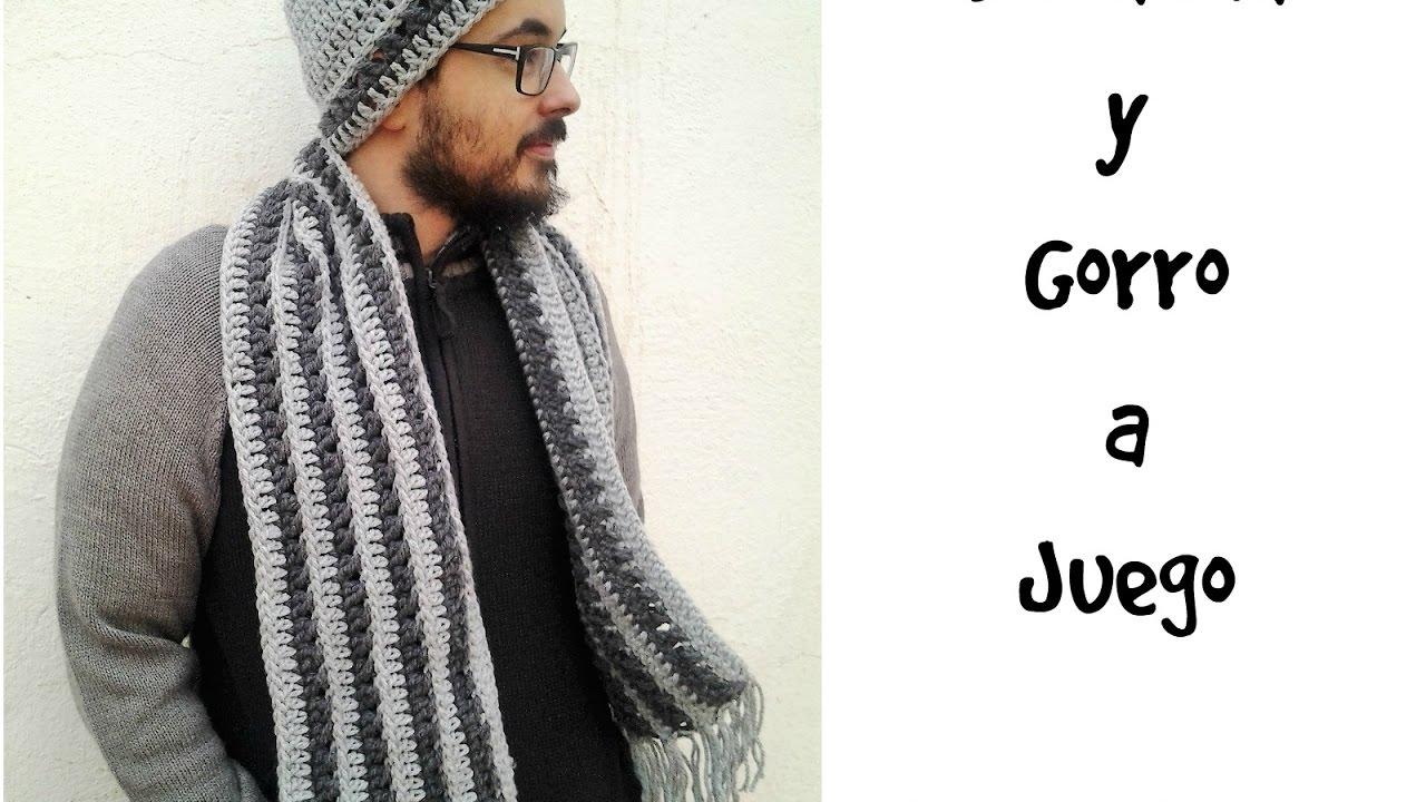 nueva colección Donde comprar verse bien zapatos venta Bufanda y gorro para hombre a juego #tutorial