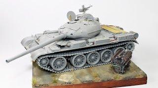 Mini Art T-54 -1 build review