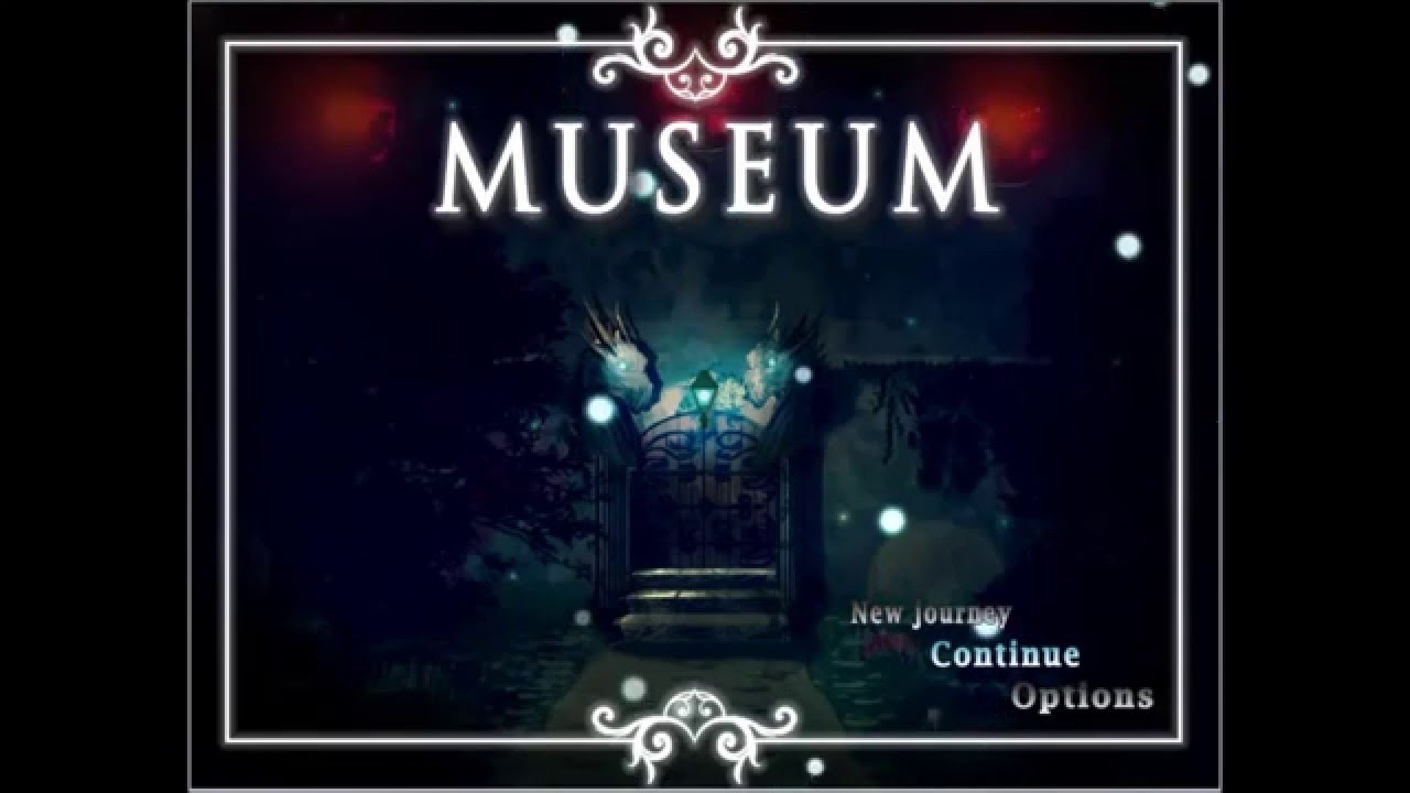 Museum RPG Maker MV Game - Title Screen