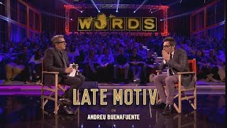 LATE MOTIV - Jugando a WORDS  | #LateMotiv26