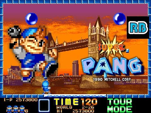 1990 [60fps] Super Pang Tour Mode ALL