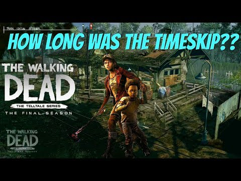 "The Walking Dead:Season 4: ""The Final Season"" How Long is The Timeskip?! - Older Clementime and Aj!"