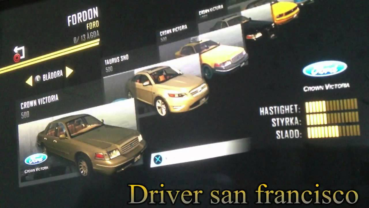 driver san francisco 39 39 all cars 39 39 ps3 youtube. Black Bedroom Furniture Sets. Home Design Ideas