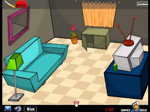 Room Escape TV Video Walkthrough