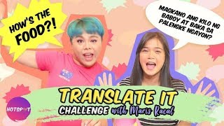 Hotspot 2018 Episode 1460: Translate It Challenge with Maris Racal