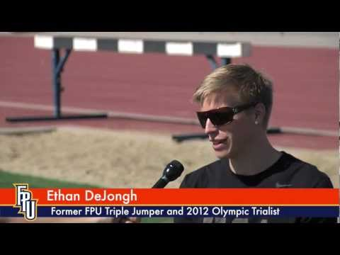 Triple jumper Ethan DeJongh talks about his Olympic Trials experience