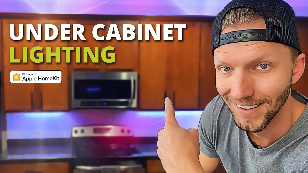 How To Install Led Strip Lights Under Cabinet Lightstrips For Your Smart Home Youtube