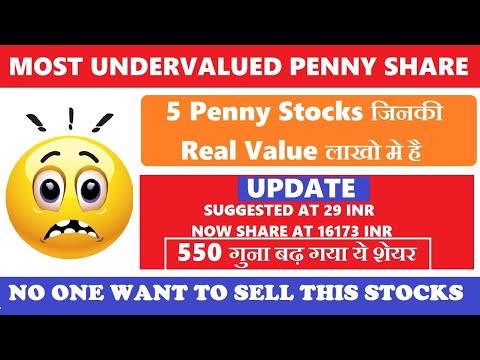 5 Penny Stocks जिनकी Real Value लाखो मे है  !!!