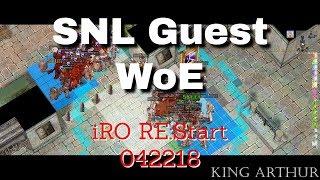 Re:Start WoE - SNL(Guest) - 042218