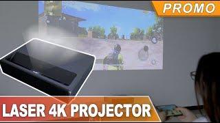 The World's First Ultra Short Throw Laser 4K Projector- Buy at Banggood