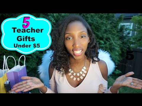 5 Great Teacher GIFT IDEA'S for under $5 | End of School Year