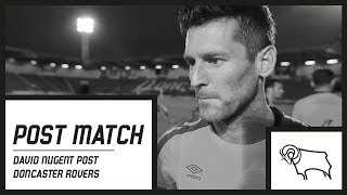 POST MATCH | David Nugent Post Doncaster Rovers (A)