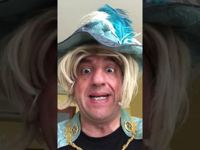 Il Principe Cacca a Comedy Ring Sanremo 2019