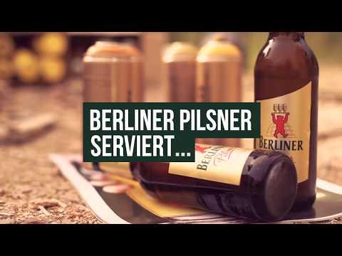 Berliner Pilsner - Berlins grösstes Bierglass Teaser | Streetart Urban Art | Videoproduktion Berlin