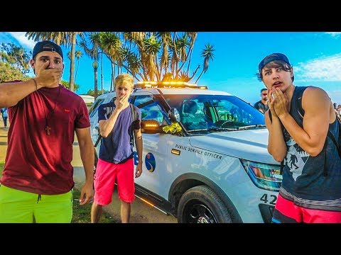 WE PARKED NEXT TO A BOMB! w/ Sam, Colby & Corey
