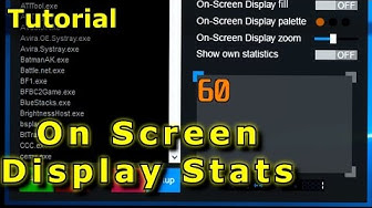 (Tutorial) On Screen Display Stats - with Afterburner, Rivatuner and HWiNFO!