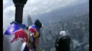 KL Tower Base Jumps 2008 with Red Bull Air Force