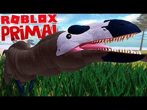 """Primal Life - Fugindo Dos Carnívoros, Grande Manada De Dinossauros!   """"Roblox"""" (#16) (PT-BR)"""