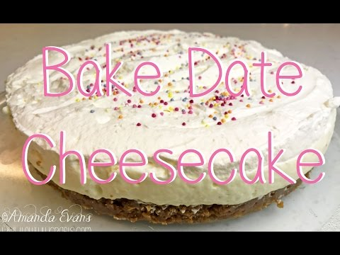 Bake Date Lemon & Ginger Cheesecake
