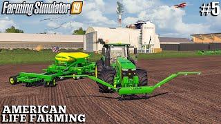I planted Rice and harvested Corn   American Life Farming   Farming Simulator 19  Episode 5