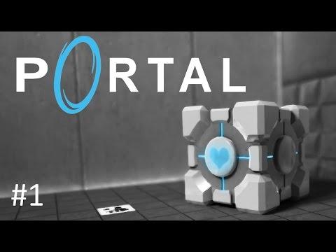 Portal - Let's Play #1 [Aperture Science Enrichment Center]