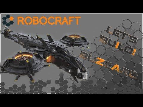 ROBOCRAFT [Let's Build!] BUZZARD [Helicopter!]