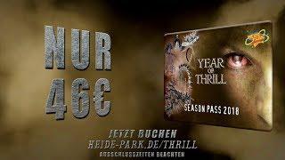 Wie geil ist das denn?! Heide Park Thrill Season Pass nur 46 € - komm 2018 sooft Du willst*