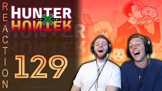 SOS Bros React - HunterxHunter Episode 129 - Pouf vs. Killua