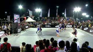[FULL GAME] Philippines vs USA - 2013 FIBA #3x3U18 Jakarta