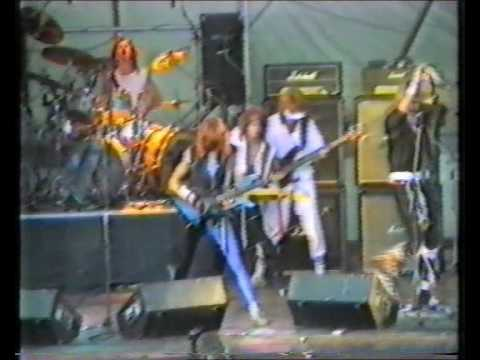 220 Volt - Lonely Nights live in Ljusdal 1984