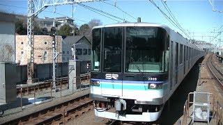 埼玉高速鉄道2000系2106F各停日吉行き 目黒線多摩川駅入線
