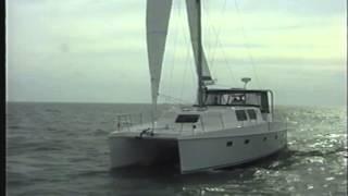 Endeavour 44 Catamaran Sailing Around