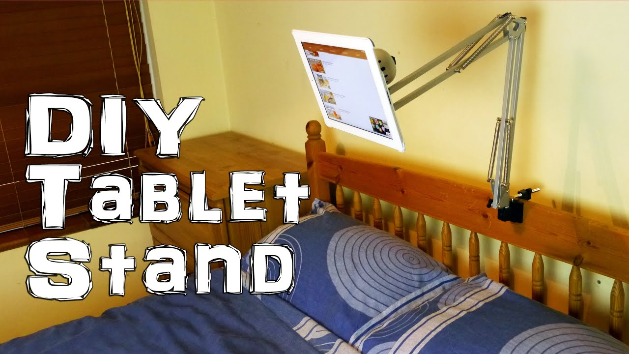 Ad Make A Tablet Ipad Stand Youtube