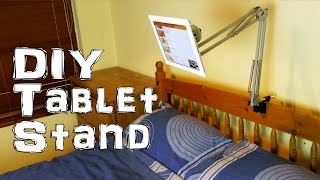 Ad Make a Tablet / iPad Stand