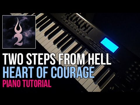 How To Play: Two Steps From Hell - Heart Of Courage (Piano Tutorial) + Sheets