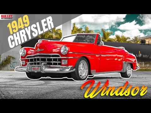 1949 Chrysler Windsor Convertible [4k] | REVIEW SERIES
