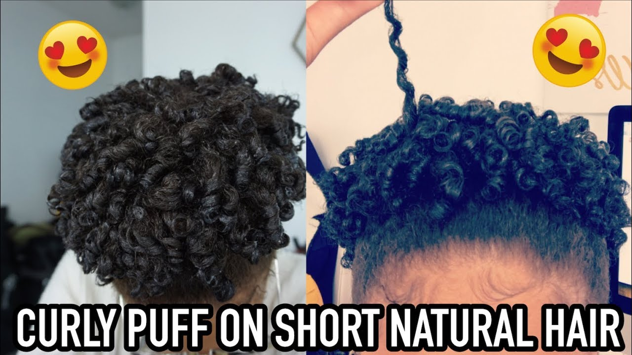 how to find the right hair style how to curly puff on hair 2646