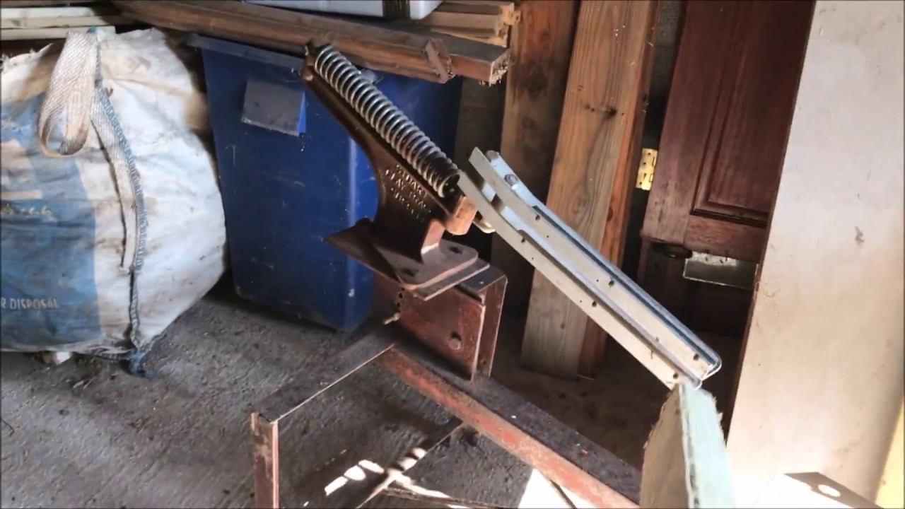 homemade clay pigeon trap