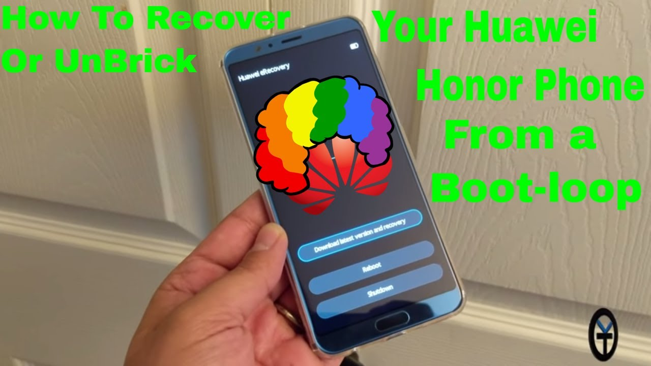 How To Recover And UnBrick Your Huawei or Honor Phone From A Bootloop Using  FunkyHuawei