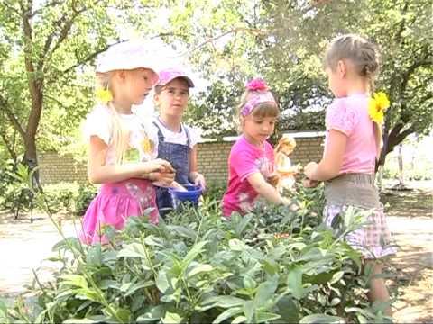 Мой любимый детский сад или день в саду.