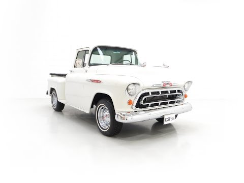 A Gorgeous Chevrolet 3100 Task-Force 57 Stepside Pick Up In Show Condition - £24,995