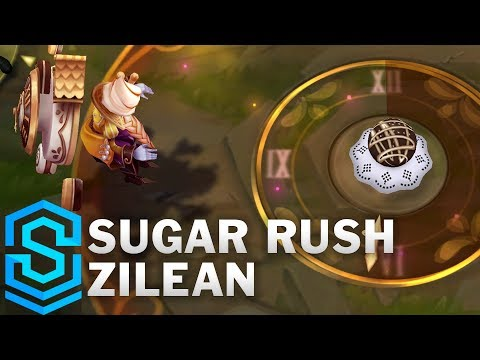 Sugar Rush Zilean Skin Spotlight - League of Legends